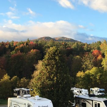 camping in the fall